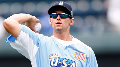 Rob Brantly hit an RBI double and scored a run at the Futures Game.