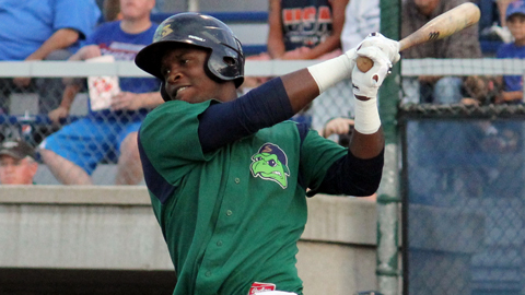 Miguel Sano hit three home runs in six games this week at Beloit.